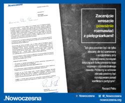 List Ryszarda Petru do Premier i Ministra Zdrowia ws. konstruktywnego dialogu z pielęgniarkami