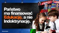 Joanna Schmidt: Mówimy NIE dla indoktrynacji w szkole [wideo]