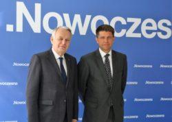 Lider Nowoczesnej Ryszard Petru spotkał się z Ministrem Spraw Zagranicznych Francji Jean-Marc Ayrault