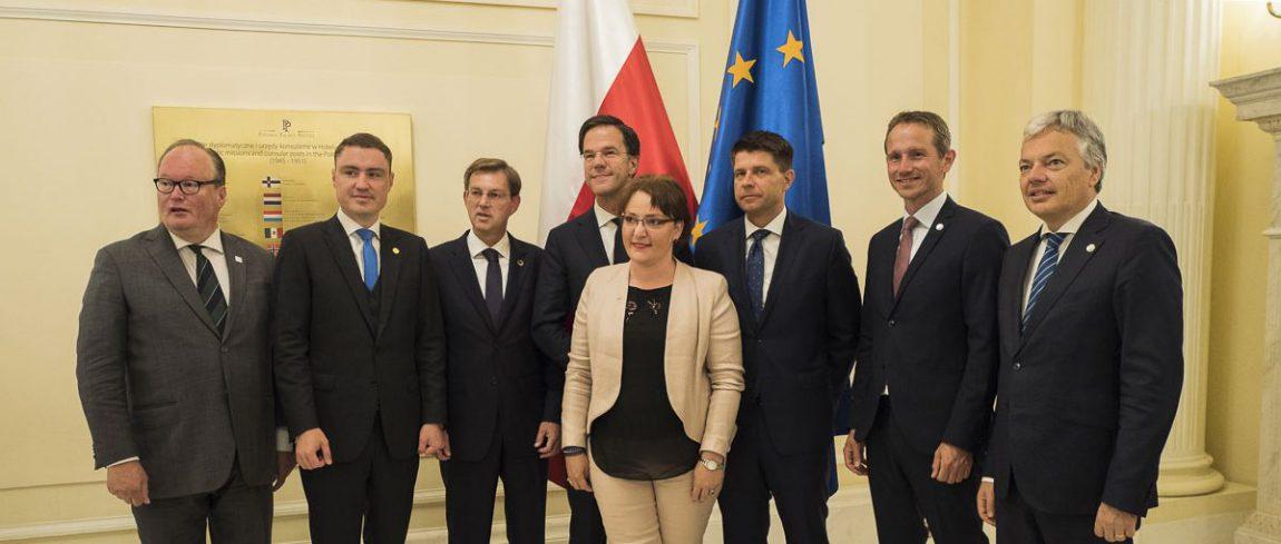 Spotkanie Ryszarda Petru i liderów ALDE w ramach szczytu NATO [wideo/zdjęcia]