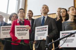 Nowoczesna zbiera podpisy pod wnioskiem o referendum przeciw PiSowskiej reformie oświaty