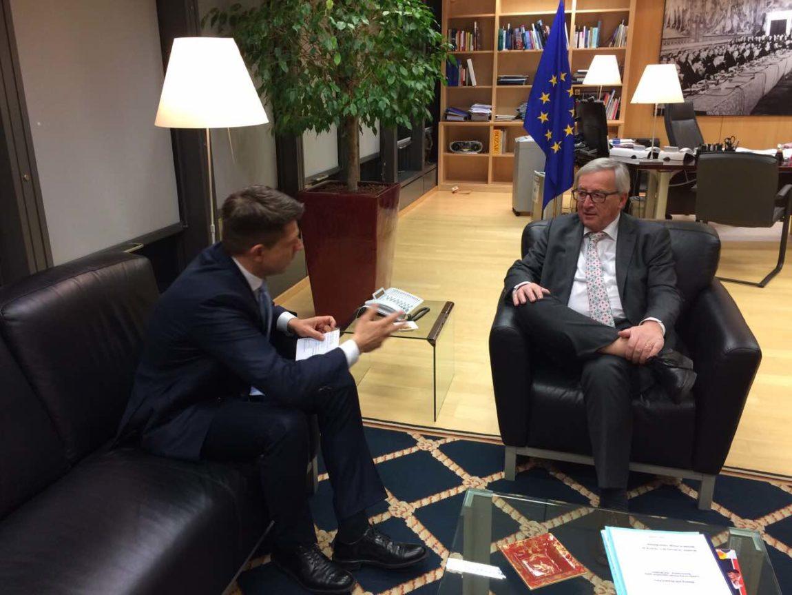 Spotkanie Petru – Juncker