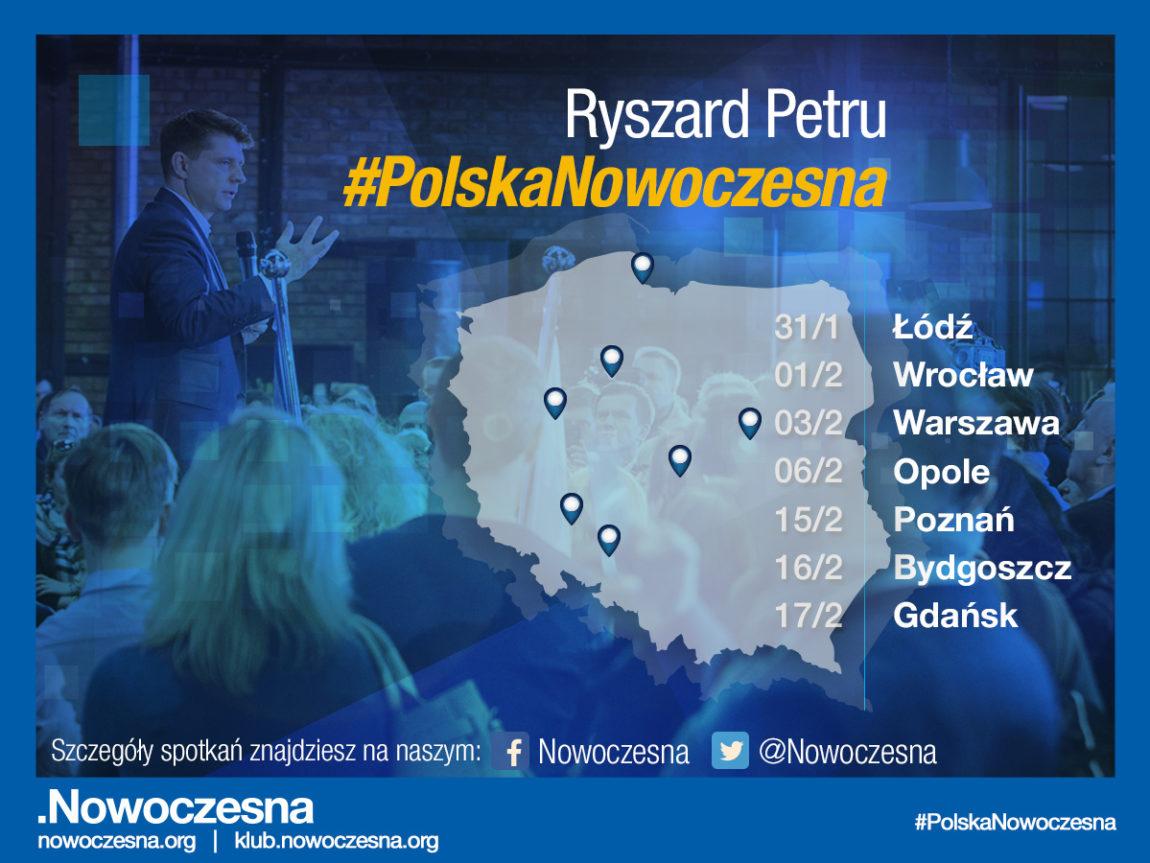 Ryszard Petru o roadshow #PolskaNowoczesna: Mobilizujemy struktury w całym kraju