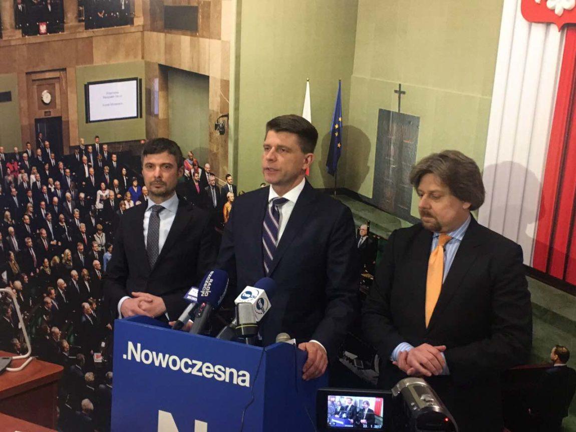 Ryszard Petru w Szczecinie: Nowoczesna za ograniczeniem liczby kadencji, ale tak, by prawo nie działało wstecz