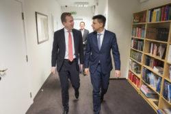 Ryszard Petru po spotkaniu z Ministrem Spraw Zagranicznych Norwegii