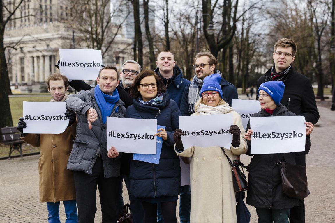 Paweł Rabiej i Ewa Lieder o #LexSzyszko: To masakra piłą mechaniczną!