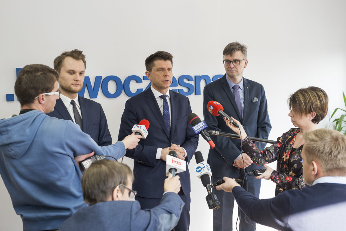 R. Petru w Bydgoszczy: W PiSie mają wrażenie, że są ponad prawem