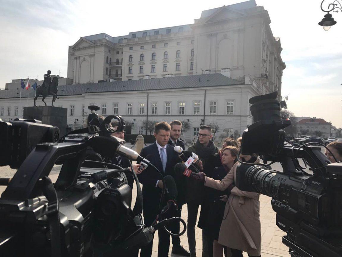 Ryszard Petru: Domagam się zwołania posiedzenia Rady Bezpieczeństwa Narodowego