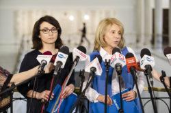 Wicemarszałek Dolniak i posłanka Gasiuk-Pihowicz o projekcie stowarzyszenia Iustitia dot. KRS