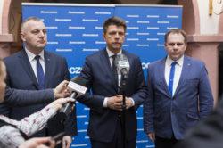 R. Petru w Elblągu apeluje o udział w demonstracji 25 marca