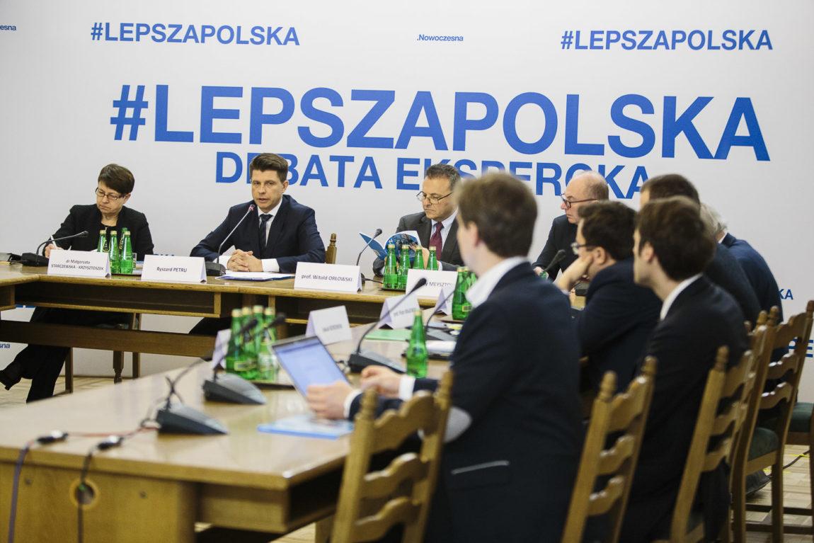 Debata Nowoczesnej: #LepszaPolska o gospodarce z ekspertami