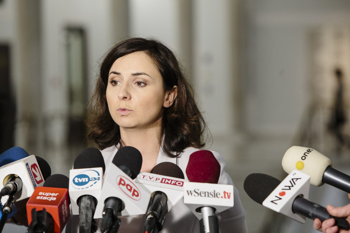 Kamila Gasiuk-Pihowicz: Nie będzie rozmów Nowoczesnej z PiS o zmianie Konstytucji