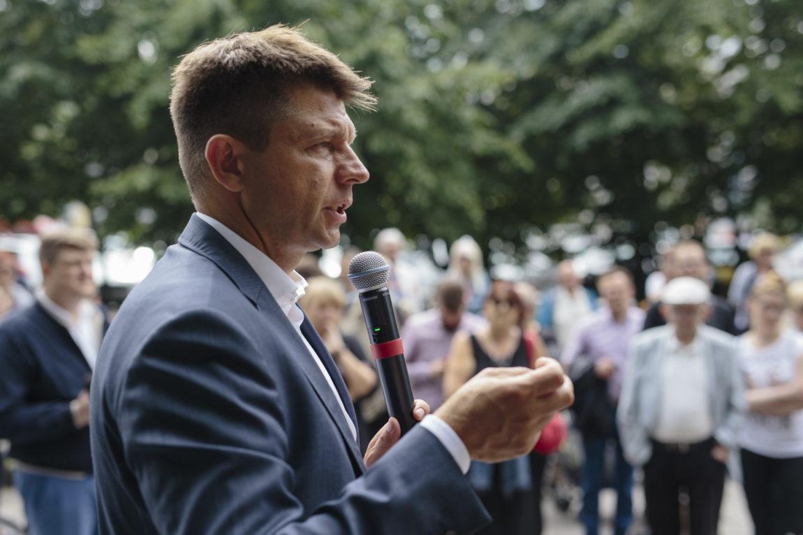 Lipcowe spotkania w terenie przewodniczącego Ryszarda Petru