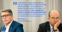 Marek Ruciński: Murek dla lekarzy rezydentów jest minister Radziwiłł
