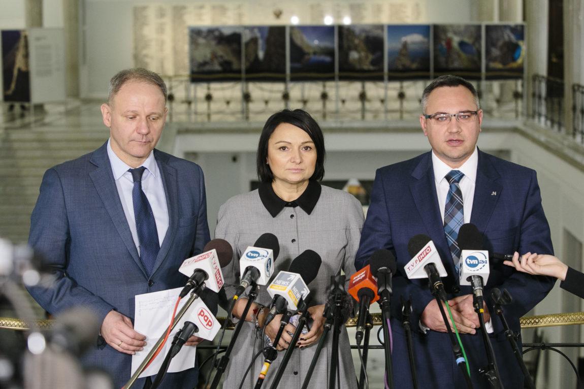 Przedstawiciele strony społecznej nie wpuszczeni do Sejmu