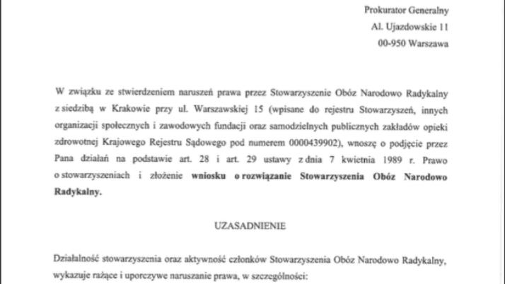 Nowoczesna składa wnioski o delegalizację: ONR, Młodzieży Wszechpolskiej i Marsz Niepodległości