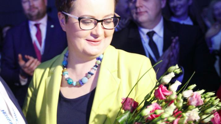 Katarzyna Lubnauer przewodniczącą Nowoczesnej
