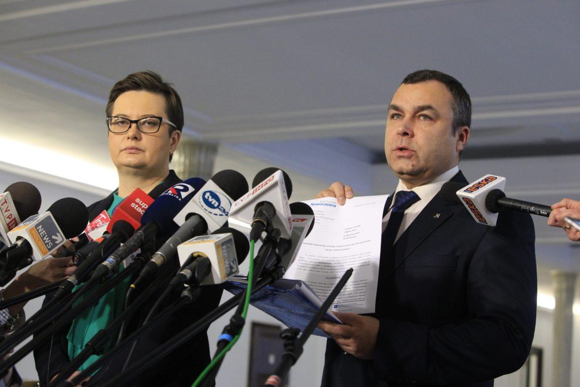 Nowoczesna składa wniosek o delegalizację stowarzyszenia Duma i Nowoczesność
