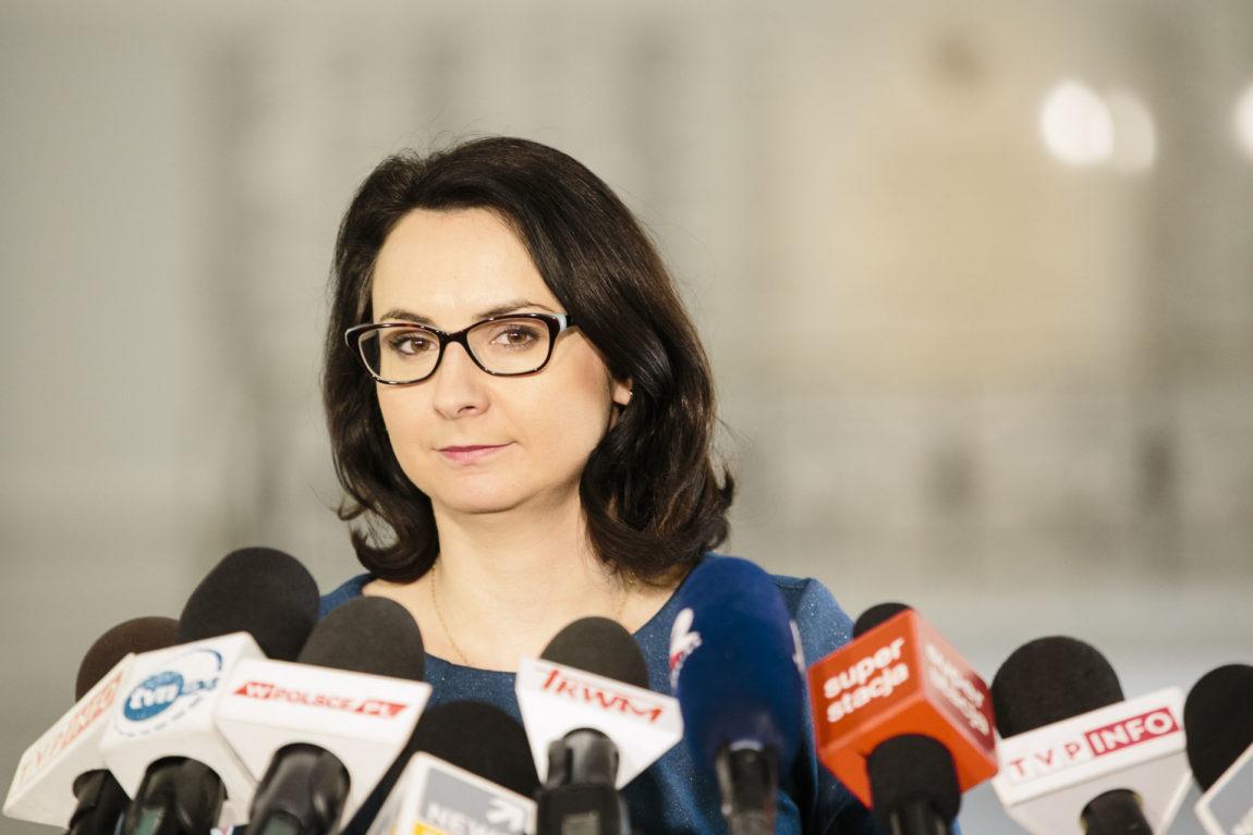 Kamila Gasiuk-Pihowicz o ustawie o upolitycznieniu Sądu Najwyższego.