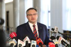 Wiceprzewodniczący Mirosław Suchoń składa wniosek do CBA ws. układu Radomskiego