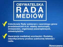 .Nowoczesna: Czas wsłuchać się w głos obywateli! Składamy projekt ustawy o Obywatelskiej Radzie Mediów.