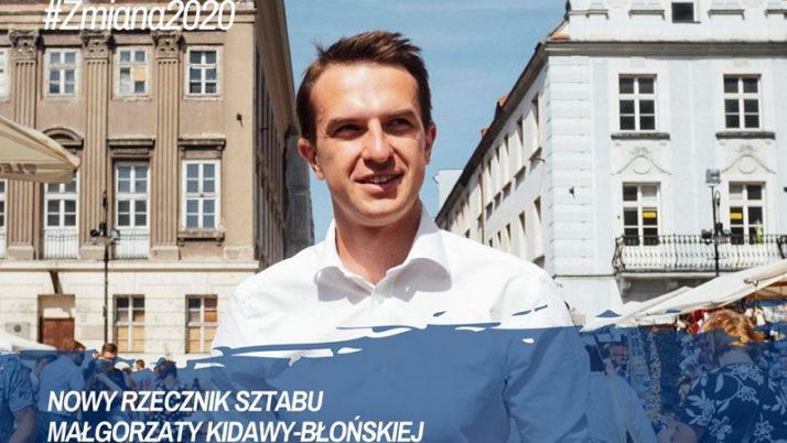 Adam Szłapka rzecznikiem sztabu Małgorzaty Kidawy-Błońskiej; wczoraj zarejestrowaliśmy komitet wyborczy!