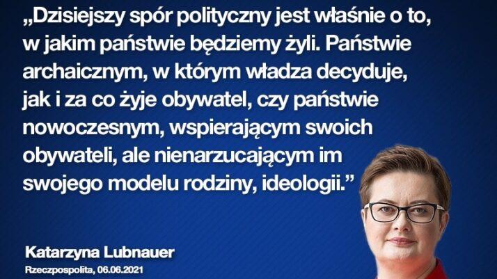 Katarzyna Lubnauer dla Rzeczypospolitej: Musimy postawić na pracę jako sposób na rozwój kraju i uprościć podatki przedsiębiorcom!